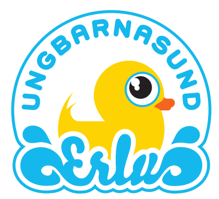 Ungbarnasund Erlu - Logo